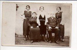 Carte photo ou photographie - Portrait de famille / Photographe sans