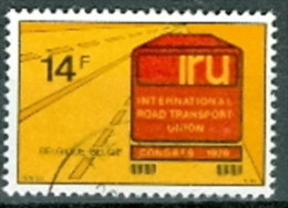 Belgien 1976 14 F. Gest IRU International Road Transport Union Congress Strasse + Lkw - Transport