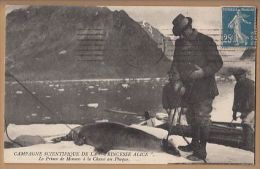 Polar Arctic  Princess Alice  Prince De Monaco A La Chasse Au Phoque    Pol46 - History