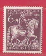 MiNr.907 Xx Deutschland Deutsches Reich - Unused Stamps