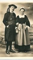 Carte  Photo  D' un  Couple  Breton