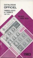 LIVRE  Catalogue Officiel Des Timbres-Postes En Carnets , Belgique Et Congo , 56 Pg , 1983   --  15/229 - België