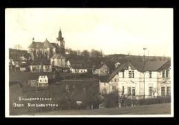 Sommerfrische Ober Morchenstern / Czech Or Germany / Postcard Traveled - A Identifier