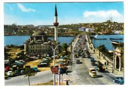 Turquie - Istambul Ve Saheserleri - Sokullu Camii Ve Atatürk Köprüsü (voitures, Automobile) - Turchia