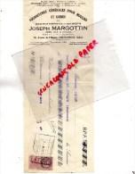 36 - CHATEAUROUX -TRAITE JOSEPH MARGOTTIN-FOURNITURES MOULIN ET MINOTERIE-30 AV. HOPITAL- 1937- SCIERIE - France