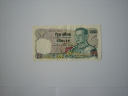 Billet De Banque  Thailande 20 BAHTS - Thaïlande