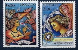 "Monaco YT 2070 Et 2071 "" Noël : Anges, 2 TP "" 1996 Neuf ** - Monaco"