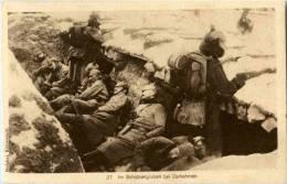 Im Schützengraben Bei Darkehmen - War 1914-18