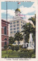 Florida Tampa Compliments Of Tampa Board Of Trade City Hall And Court Park