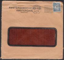 Netherlands 1924, Cover Amsterdam To Zagreb W./postmark Amsterdam - 1891-1948 (Wilhelmine)