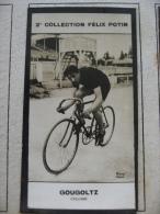 1912 -  André GOUGOLTZ Champion (Vélo Cyclisme)  -   Photo Bromure  2ème Collection Felix Potin - - Cyclisme