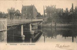 BELGIQUE - FLANDRE ORIENTALE - DENDERMONDE - TERMONDE - Le Pont Du Barrage. - Dendermonde
