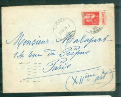 LAC Affranchie Par Yvert N°283 Pub N°2 Oblitéré Orodateur De Ligugé-vienne  En 1936 )  Mala2020 - Advertising
