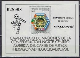 Honduras - Block 44 Postfrisch / MNH ** ( K780) - 1990 – Italien