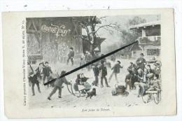 CPA -Chocolat Vinay- Les Joies De L'hiver- Série V, 28 Sujets. N°19 - Jeux, Enfants,neige- - Chocolat
