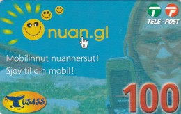 Greenland, PRE-GRL-1009, 100 Kr, Nuan.gl, 2 Scans   Expiry 16-10-2010. - Groenlandia