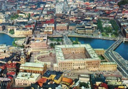 STOCKHOLM - The Royal Palace And The House Of Parlament - Schweden