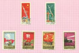 Vietnam Du Nord N°549 à 554 - Vietnam