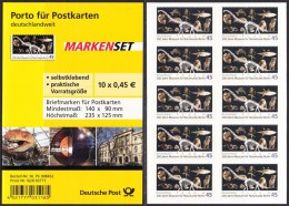 !a! GERMANY 2010 Mi. 2780 MNH BOOKLET(10) (self-adhesive) -Museum Of Natural Science, Berlin - Booklets