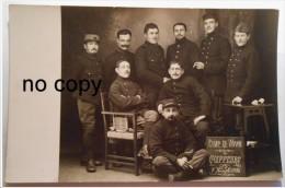 CAMP DE WAHN - COIFFEURS - 7 Novembre 1916 - Recto Verso - Documents