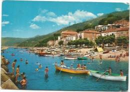 K2289 Pisciotta Marina (Salerno) - Spiaggia Beach Plage Playa Strand / Viaggiata - Altre Città