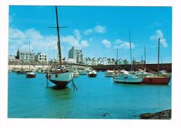CPM  LA TURBALLE : Port Et Les Bateaux    ( 1500  ) - La Turballe
