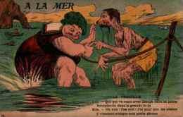 Artaud & Nozais - 74, à La Mer La Trouille - Humour
