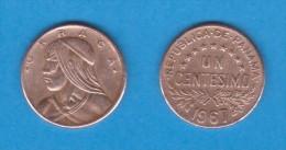 PANAMA   1  CENTESIMO  1.967  BRONCE  KM#22  VF/MBC    DL-11.137 - Panamá