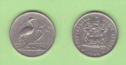 SUDAFRICA   5  CENTIMOS  1.981  NIQUEL  KM#84    VF/MBC    DL-11.145 - Sudáfrica