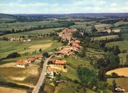 Beaumont-sur-Lèze.. Belle Vue Aérienne Du Village - Autres Communes