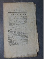 REVOLUTION 1793  Explosion Poudrière De Grenelle, Concert Donné Par Artistes Pour Soulager ; Ref 097 - Autographes