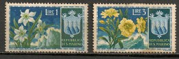 Timbres - Saint-Marin - 1953 - 1 Et 2 Lire - - Saint-Marin