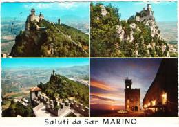 Saluti Da San Marino  - 1968 - 6 Stamps - San Marino