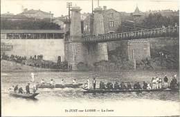 42 - SAINT-JUST-SUR-LOIRE - Loire - La Joute - Saint Just Saint Rambert