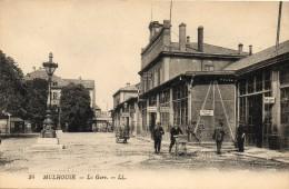 68  MULHOUSE                   La  Gare - Mulhouse