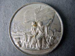 GROßBRITANIEN AUSTELLUNG 1862 ZINNMEDAILLE_ IGNIERT 1862 MEDAILLE #m155 - Souvenir-Medaille (elongated Coins)
