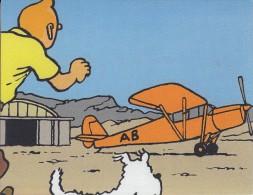 Thématiques Tintin Et Milou Bande Dessinée Illustrateur Différents Avion - Fumetti