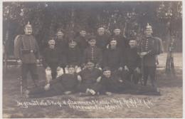 Soldaten-Portrait, Altengrabow 1914, 1. Reserve-Regiment IV Armeekorps,  Fotokarte, WWI - Weltkrieg 1914-18