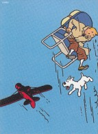 Thématiques Tintin Et Milou Bande Dessinée Illustrateur Différents Hergé Avion Ejection - Fumetti