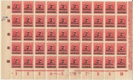 Halber Bogen Inflation 1923, Neu **,  Mit Schöner Abart. Nr Mi. 312 - Neufs