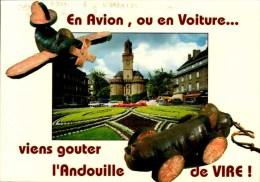 14-VIRE...CAPITALE DE L'ANDOUILLE...CPM - Vire