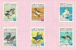 Vietnam Du Nord N°760 à 765 Cote 3 Euros - Vietnam