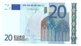 Portugal 20 Euros Draghi M U021 B5 UNC - 20 Euro
