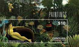 Canouan Grenadines Of St. Vincents-2014-Art-Paintin G- Henri Rousseau - St.Vincent Y Las Granadinas