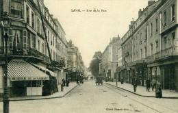 LAVAL - MAYENNE  (53)  -   CPA ANIMEE DE 1918 - PEU COURANT CLICHE. - Laval