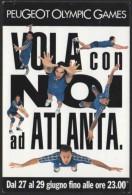 VOLLEYBALL - ITALIA 1996 - PEUGEOT OLYMPIC GAMES - VOLA CON NOI AD ATLANTA - NAZIONALE ITALIANA PALLAVOLO - Volleyball