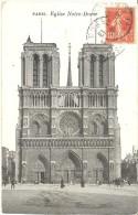 FRANCE. OLD POSTCARD. PARIS. NOTRE DAME. - Notre Dame De Paris