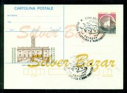 INTERO POSTALE -  INTERI POSTALI - CARTOLINA POSTALE - IPZS - I.P.Z.S.- MANIFESTAZIONI -MOSTRE FILATELICHE - 6. 1946-.. Repubblica