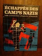 Echappés Des Camps Nazis:Colditz-le Camp De L´enfer-me Stalag Luft III-le Cheval De Bois - Weltkrieg 1939-45