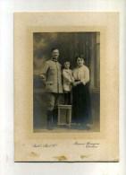 - PORTRAIT DE MILITAIRE EN FAMILLE . BILL'S PHOTO CO. - Guerre, Militaire